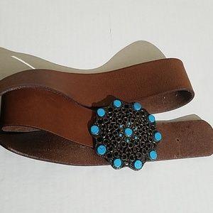 Accessories - Chichos Genuine leather belt D3